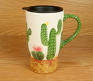 West Edmonton Mall Cactus Travel Mug