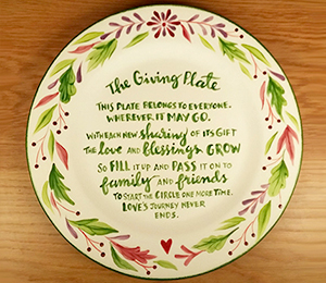 West Edmonton Mall The Giving Plate