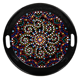 West Edmonton Mall Mosaic Mandala Tray
