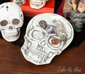 West Edmonton Mall Vintage Skull Plate