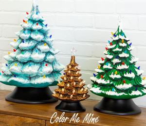 West Edmonton Mall Vintage Christmas Trees
