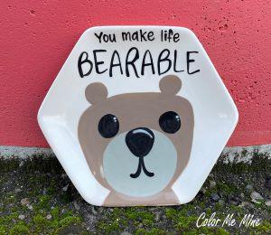 West Edmonton Mall Bearable Plate