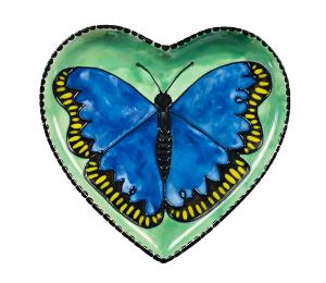 West Edmonton Mall Butterfly Plate